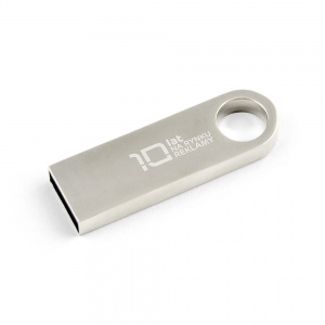 Pendrive metalowy SLIM z grawerem 16 GB