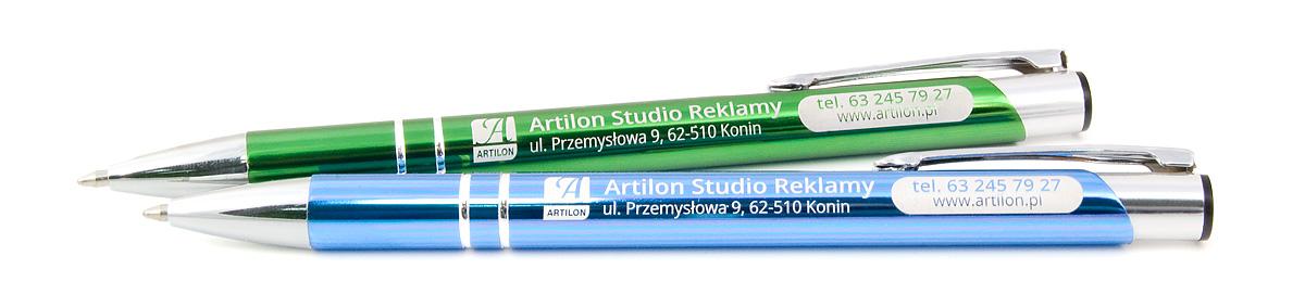 Długopisy z grawerem COSMO